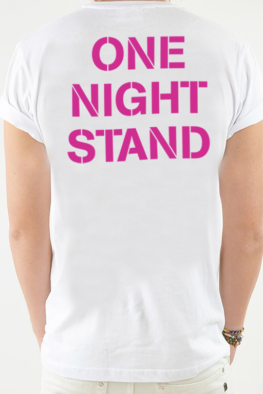 T-shirt White, One Night - 1796