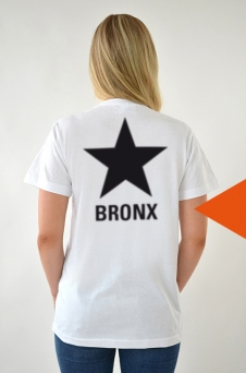 T-Shirt White, STAR - 1739