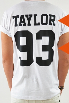 T-shirt name&Nb White - 1769