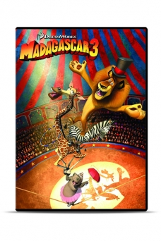 Movie: Madagascar 3: Europe's Most Wanted (DVD) - 1845