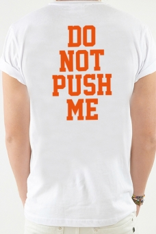 T-Shirt White, Do not - 1912