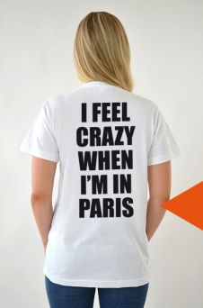 T-Shirt White, I Feel - 2027