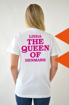 T-Shirt White, The Queen - 2035