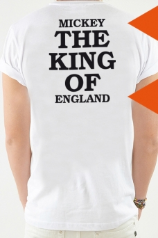 T-Shirt White, The King Of - 2058