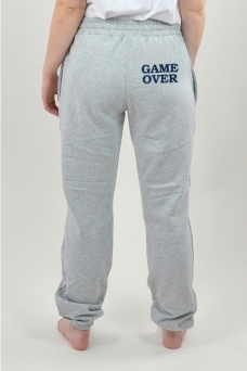 Sweatpants Grey, Game Over - 3063