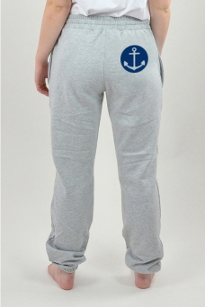 Sweatpants Grey, Anchor - 3076