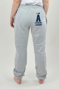 Sweatpants Grey, I Am - 3098