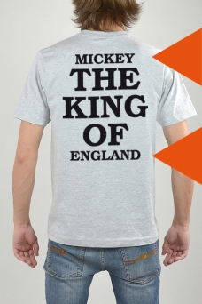T-Shirt Grey, The King - 3208
