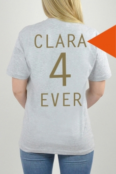 T-Shirt Grey, 4Ever - 3233