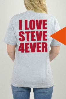 T-Shirt Grey, I Love - 3259