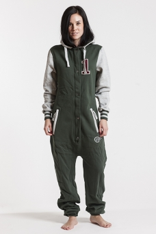 College - Green, Onesie - 4226