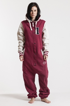 College - Red, Onesie - 4234