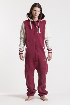 College - Red, Onesie - 4238