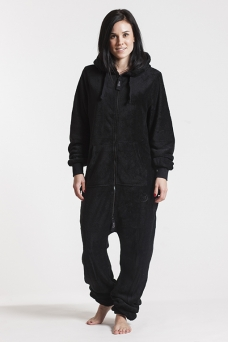 Fleece - Black, Onesie - 4306
