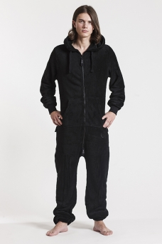 Fleece - Black, Onesie - 4310