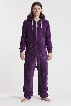 Fleece - Purple, Onesie - 4322