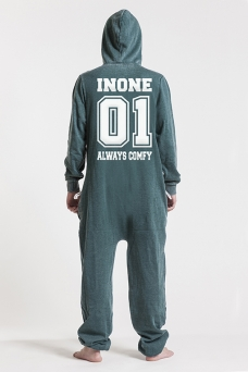 Burned Green, College 01, Onesie - 4599