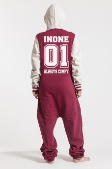 College Red, College 01, Onesie - 4623