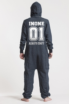 Denim, College 01, Onesie - 4707