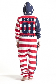 United States, College 01, Onesie - 4826