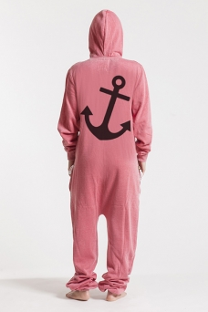 Burned Red - Anchor, Onesie - 4938