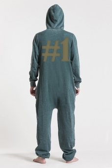 Burned Green, Hashtag #1, Onesie - 5099