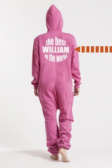 Comfy Pink, The Best, Onesie - 5274