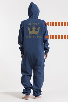 Comfy Navy, The Boss, Onesie - 5328