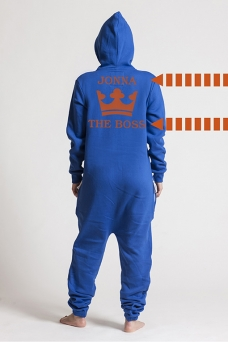 Comfy Blue, The Boss, Onesie - 5631