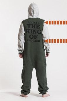 College Green, The King, Onesie - 5680
