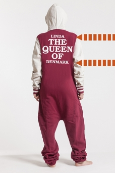 College Red, The Queen, Onesie - 5684